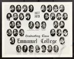 1977-1978 Graduating Class, Emmanuel College