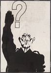 [Caricature of Charles de Gaulle in the guise of Hitler].