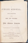 A Jubilee Memorial, of Incidents in the Rise and Progress of the Bible Christian Connexion; Front Matter