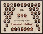 1983 Graduating Class, Emmanuel College
