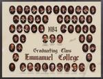 1984 Graduating Class, Emmanuel College