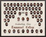 1986 Graduating Class, Emmanuel College