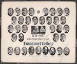 1956-1957 Graduating Class, Emmanuel College