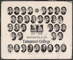 1957-58 Graduating Class, Emmanuel College