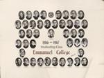 1966-1967 Graduating Class, Emmanuel College