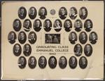 Graduating Class, Emmanuel College, 1940