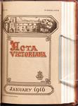 Acta Victoriana 40: 4