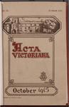 Acta Victoriana 40 : 1