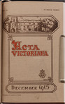 Acta Victoriana 40 : 3