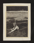 "Marjorie Pickthall swimming in ""The Pool,"" Clo-oose, British Columbia"
