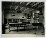 [Interior of Emmanuel College Library]