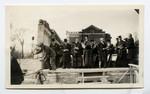 Cornerstone ceremony for Emmanuel College, 1930