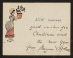 With sincere good wishes for Christimas and the New Year, from Marjorie Pickthall.
