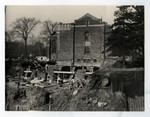 Construction of Emmanuel College building, 1930