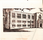 Architects drawing of Emmanuel College
