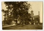 [Exterior west and south side of Annesley Hall, 190?]