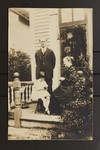 E.J. Pratt with his mother, Fanny Pitts Knight, and daughter, Mildred Claire, Newfoundland