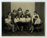 Women's Literary Society Executive, 1943-1944