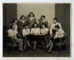 Womens Literary Society Executive, 1943-1944