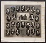 Graduating Class in Theology, Victoria College, 1924