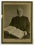 Burwash, Rev. Nathanael [holding a book]
