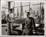 "Raymond Massey and Gary Cooper in ""The Fountainhead"""