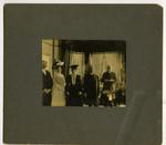 Burwash performing a marriage ceremony