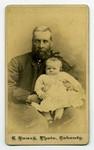 Burwash, Rev. Nathanael [and child]