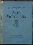 Acta Victoriana 48 : 2