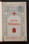 Acta Victoriana 42 : 1