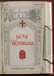 Acta Victoriana 42 : 5