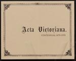 Acta Victoriana 102 : 2