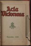 Acta Victoriana 45 : 2