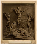 [The Crucifixion, executed by the Baxterotype process].