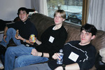Vic One Students relaxing in Wymilwood lounge