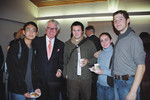Ken Taylor, Nov. 12, 2003 [with Vic One students]