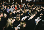 [Students in audience at] Vic One Program Launch, October 4, 2003