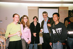 Michael Sefton, Nov. 2, 2005 [with Vic One Students]