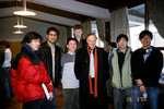 Professor John Polanyi [with Vic One students]