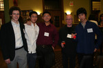 [Professor Brian Baigrie with Vic One students]