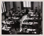[Students studying at the Birge-Carnegie Library]