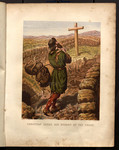 Christian loses his burden at the cross.