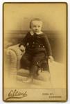 Nathanael Alfred Burwash, son [of] Rev. N. Burwash, Cobourg