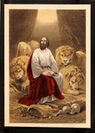 [Daniel in the lions den].