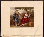 Christ & the woman of Samaria.