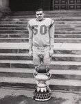 [T. Rumsey, Linebacker, Victoria College Football Team, Mulock Cup Champions, 1967]