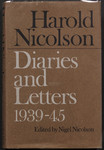 Diaries and letters 1939-1945