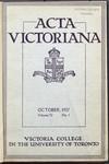 Acta Victoriana 52 : 1